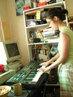 Jane and keyboard