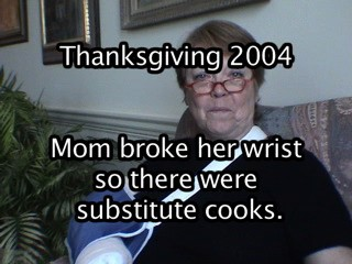 Thanksgiving 2K4 vid