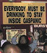 gas panic - everyone must drink
